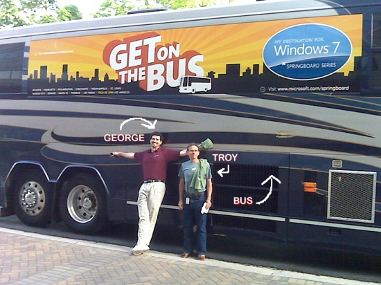 George, Troy, Bus