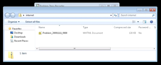 Zip file contents (MHTML file)