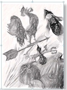 Image with Pencil