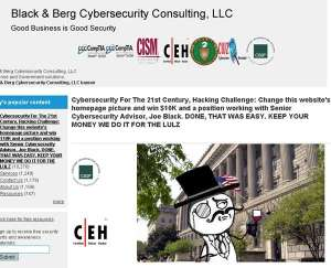 LulzSec hacks Black & Berg Cybersecurity Consulting